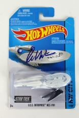 William Shatner Signed Starship Enterprise NCC-1701 Hot Wheels PSA ITP #7A30264