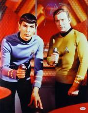 William Shatner Star Trek Signed 16X20 Photo PSA/DNA #7A30284
