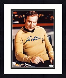 William Shatner Star Trek Signed Autographed 11x14 Photo JSA Authenticated 3