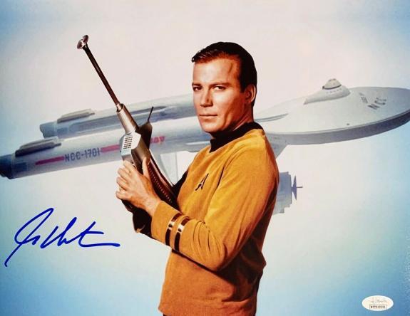 William Shatner Star Trek Signed Autographed 11x14 Photo JSA Authenticated 6