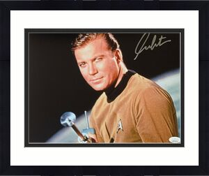 William Shatner Star Trek Signed Autographed 11x14 Photo JSA Authenticated 8
