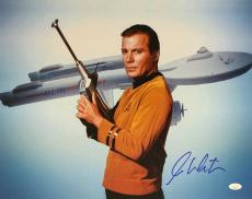 William Shatner Star Trek Signed Autographed 16x20 Photo JSA Authenticated 6