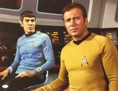 William Shatner Star Trek Signed Autographed 16x20 Photo JSA Authenticated 7