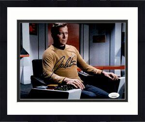 William Shatner Star Trek Signed Autographed 8x10 Photo JSA Authenticated 11