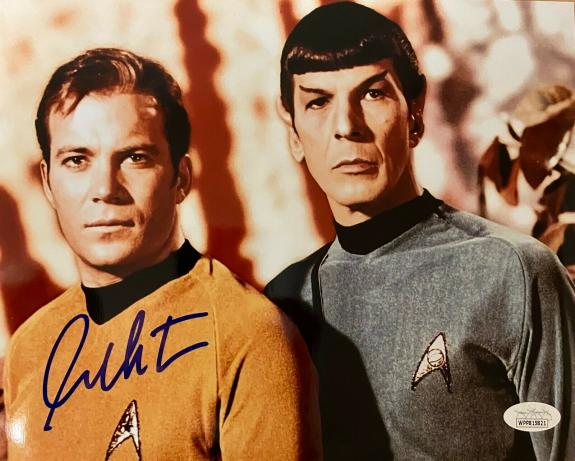 William Shatner Star Trek Signed Autographed 8x10 Photo JSA Authenticated 2
