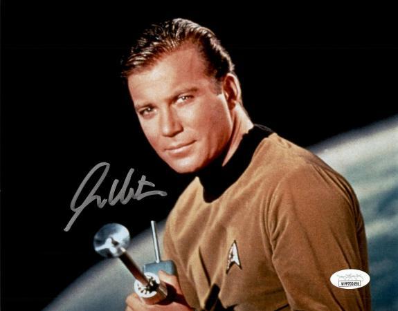 William Shatner Star Trek Signed Autographed 8x10 Photo JSA Authenticated 8