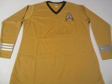 William Shatner Star Trek Signed Autographed Uniform Shirt Captain Kirk JSA COA