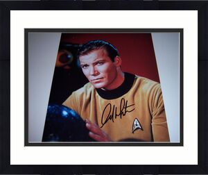 William Shatner Star Trek W/coa Signed 11x14 Photo