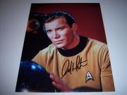 William Shatner Star Trek W/coa Signed 11x14 Photo