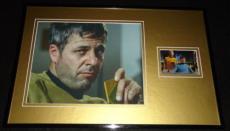 William Windom Signed Framed 11x17 Photo Display Star Trek
