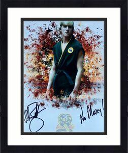 William Zabka The Karate Kid (No Mercy) Signed 11x14 Photo JSA Q06605