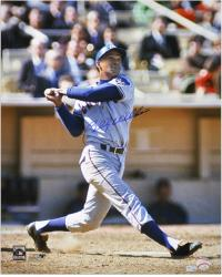 """Billy Williams Chicago Cubs Autographed 16"""" x 20"""" Swinging MLB Photograph"""