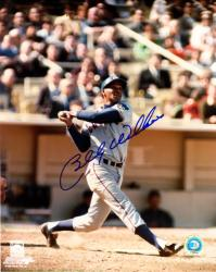 Billy Williams Chicago Cubs Autographed 8'' x 10'' Vertical Photograph - Mounted Memories