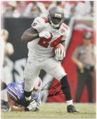 Signed Cadillac Williams Photo - Carnell 16x20 Mounted Memories