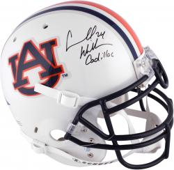 Carnell Williams Auburn Tigers Autographed Riddell Pro-Line Helmet with Cadillac Inscription