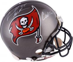 Carnell Williams Tampa Bay Buccaneers Autographed Riddell Pro-Line Helmet with Cadillac Inscription