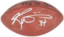 Ricky Williams Autographed Wilson Pro Football - Mounted Memories
