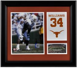 """Ricky Williams Texas Longhorns Campus Legend 15"""" x 17"""" Framed Collage"""