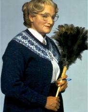 Robin Williams Autographed 11'' x 14'' Mrs. Doubtfire Solo Photograph