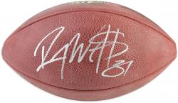 "Roy Williams Autographed Wilson Duke Football with ""#31"" Inscription"