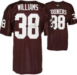 Roy Williams Oklahoma Sooners Autographed Wilson Jersey