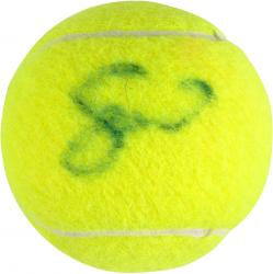 WILLIAMS, SERENA AUTO (US OPEN LOGO) TENNIS BALL - Mounted Memories