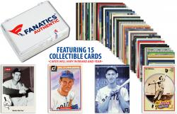 Ted Williams Boston Red Sox Collectible Lot of 15 MLB Trading Cards