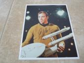 Willian Autographed Photo - Shatner Star Trek 8x10