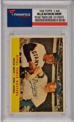 Willie Mays / Duke Snider San Francisco Giants / Brooklyn Dodgers 1958 Topps #436 Card