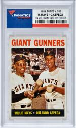 Willie Mays/Orlando Cepeda San Francisco Giants1964 Topps #306 Card