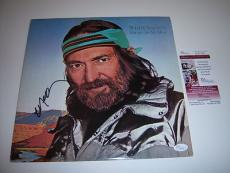 Willie Nelson Always On My Mind Jsa/coa Signed Lp Record Album