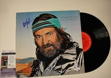 Willie Nelson 'always On My Mind' Signed Record Album Lp Jsa Coa #k42458