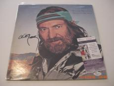 Willie Nelson Always On My Mind,country Legend Jsa/coa Signed Lp Record Album