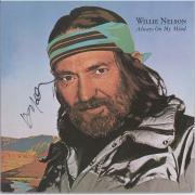 Willie Nelson Autographed Always On My Mind Album - JSA