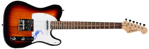 Willie Nelson Autographed Electric Guitar - PSA/DNA COA