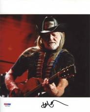 Willie Nelson Autographed Signed 8x10 Photo Certified Authentic PSA/DNA COA