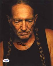 WILLIE NELSON Autographed Signed 8x10 Photo Certified Authentic PSA/DNA
