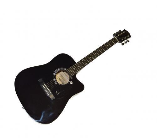 Willie Nelson Autographed Signed Acoustic Guitar AFTAL UACC RD COA