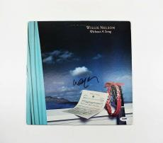Willie Nelson Autographed Signed Album LP Record Certified Authentic PSA/DNA COA