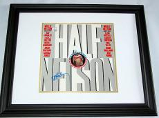 Willie Nelson Autographed Signed Framed Half Nelson Album