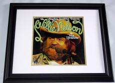 Willie Nelson Autographed Signed Nelson & Friends Album