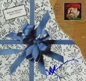 Willie Nelson Autographed Signed Pretty Paper Album Cover AFTAL UACC RD COA
