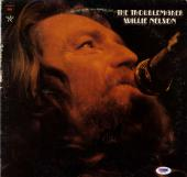 Willie Nelson Autographed The Troublemaker Album Cover AFTAL UACC RD COA PSA