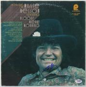 Willie Nelson Bloody Merry Morning Signed Album Cover W/ Vinyl PSA/DNA #L69394
