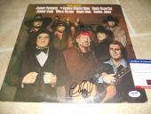 Willie Nelson Charlie Daniels Signed Autographed LP Album Record PSA Certified