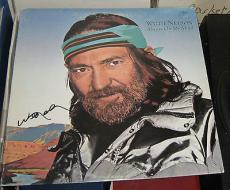 Willie Nelson Country Legend Signed Autographed Always On My Mind Album Coa +++