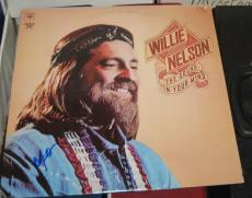 Willie Nelson Country Legend Signed Autographed Sound In Your Mind Album Coa