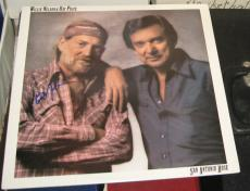 Willie Nelson Country Signed Autographed San Antonio Rose Album Coa Ray Price
