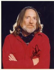 Willie Nelson Country Superstar Signed Autographed 8x10 Photo W/coa