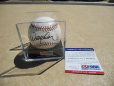Willie Nelson Full Signature Signed Autographed OL Baseball Ball PSA Certified
